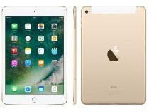 iPad Mini 4 Apple 4G 128GB Dourado Tela 7,9 - Retina Proc. Chip A8 Câm. 8MP + Frontal iOS 10