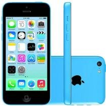 iPhone 5c Apple 8GB 4G iOS 8 Tela 4 Wi-Fi - C��mera 8MP Grava em HD GPS Proc. A6 - Azul