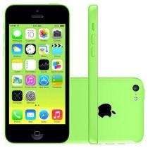 iPhone 5c Apple 8GB 4G iOS 8 Tela 4 Wi-Fi - Câmera 8MP Grava em HD GPS Proc. A6 - Verde
