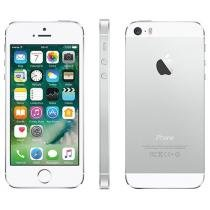 iPhone 5S Apple 16GB Prata 4G Tela 4 Retina - Câmera 8MP iOS 8 Proc. M7 Touch ID