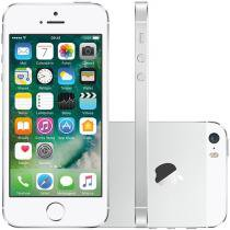 iPhone 5s Apple 32GB 3G iOS 7 Tela 4 Wi-Fi - Câmera 8MP Grava em HD GPS Proc. M7 - Prata