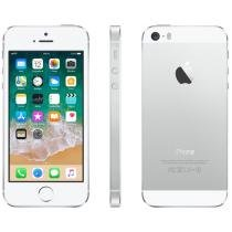 iPhone 5s Apple 32GB iOS 8 Tela 4 4G Wi-Fi - Câm. 8MP Grava em HD GPS Proc. M7 - Prata