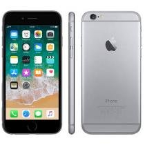 iPhone 6 Apple 128GB 4G iOS 8 Tela 4.7 Câm. 8MP - Proc. A8 Touch ID Wi-Fi GPS Cinza Espacial