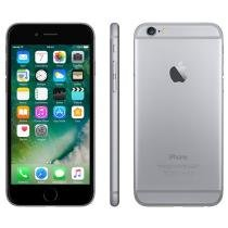 iPhone 6 Apple 16GB 4G iOS 8 Tela 4.7 Câm. 8MP - Proc. A8 Touch ID Wi-Fi GPS NFC Cinza Espacial