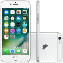 iPhone 6 Apple 16GB 4G iOS 8 Tela 4.7 Câm. 8MP - Proc. A8 Touch ID Wi-Fi GPS NFC Prata