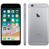 iPhone 6 Apple 16GB Cinza Espacial 4G Tela 4.7 - Câm. 8MP IOS 8 Proc. Chip A8 Touch ID