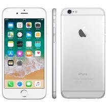iPhone 6 Apple 16GB Prata Tela 4,7 Retina 4G - Câmera 8MP + Frontal iOS 8 Proc. M8 Touch ID