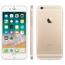 iPhone 6 Apple 64GB 4G iOS 8 Tela 4.7 Câm. 8MP - Proc. A8 Touch ID Wi-Fi GPS NFC Dourado