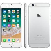 iPhone 6 Apple 64GB 4G iOS 8 Tela 4.7 Câm. 8MP - Proc. A8 Touch ID Wi-Fi GPS NFC Prata