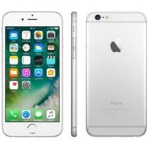 iPhone 6 Apple 64GB Prata 4G Tela 4,7 Retina - Câmera 8MP iOS 8 Proc. M8 Touch ID