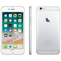 iPhone 6 Apple 64GB Prata Tela 4,7 Retina 4G - Câmera 8MP + Frontal iOS 8 Proc. M8 Touch ID