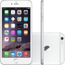 iPhone 6 Plus Apple 64GB 4G iOS 8 Tela 5.5 - Câm. 8MP Proc. A8 Touch ID Wi-Fi GPS NFC Prata