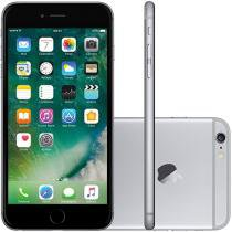 iPhone 6 Plus Apple 64GB Cinza Espacial Tela 5,5 - Retina 4G Câmera 8MP + Frontal iOS 8 Proc. M8