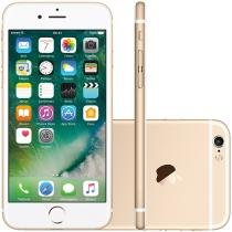 iPhone 6S Apple 128GB 4G iOS 9 Tela 4.7 3D Touch - Câm. 12MP Proc. Chip A9 Touch ID - Dourado