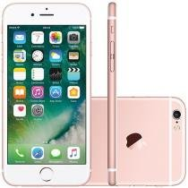iPhone 6S Apple 128GB 4G iOS 9 Tela 4.7 3D Touch - Câm. 12MP Proc. Chip A9 Touch ID - Ouro Rosa