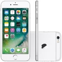 iPhone 6S Apple 128GB 4G iOS 9 Tela 4.7 3D Touch - Câm. 12MP Proc. Chip A9 Touch ID - Prata