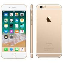 iPhone 6S Apple 16GB 4G iOS 9 Tela 4.7 3D Touch - Câm. 12MP Proc. Chip A9 Touch ID - Dourado