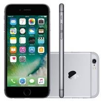 iPhone 6S Apple 16GB Cinza Espacial 4G Tela 4.7 - Retina Câm. 12MP + Selfie 5MP iOS 9 Proc. Chip A9