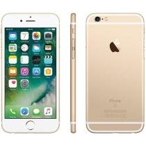 iPhone 6S Apple 16GB Dourado 4G Tela 4.7 Retina - Câm 12MP + Selfie 5MP iOS 9 Proc. Chip A9 3D Touch