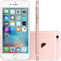 iPhone 6S Apple 64GB 4G iOS 9 Tela 4.7 3D Touch - Câm. 12MP Proc. Chip A9 Touch ID - Ouro Rosa