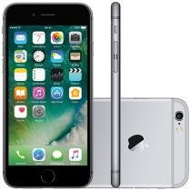 iPhone 6S Apple 64GB Cinza Espacial 4G Tela 4.7 - Retina Câm. 12MP + Selfie 5MP iOS 9 Proc. Chip A9