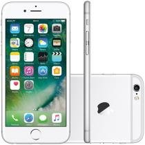 iPhone 6S Apple 64GB Prata 4G Tela 4.7 Retina - Câm 12MP + Selfie 5MP iOS 9 Proc. Chip A9 3D Touch