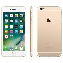 iPhone 6S Plus Apple 128GB Dourado 4G Tela 5.5 - Câm. 12MP IOS 9 Proc. Chip A9 Touch ID NFC
