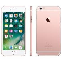 iPhone 6S Plus Apple 128GB Ouro Rosa 4G Tela 5.5 - Retina Câm. 12MP + Selfie 5MP iOS 9 Proc. Chip A9