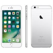 iPhone 6S Plus Apple 128GB Prata 4G Tela 5.5 - Retina Câm. 12MP iOS 9 Proc. Chip A9 Touch ID NFC