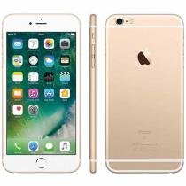 iPhone 6S Plus Apple 16GB 4G iOS 9 Tela 5.5 - 3D Touch Câm. 12MP Proc. Chip A9 - Dourado