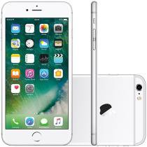 iPhone 6S Plus Apple 64GB 4G iOS 9 Tela 5.5 - 3D Touch Câm. 12MP Proc. Chip A9 - Prata