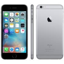 "iPhone 6S Plus Apple 64GB Cinza Espacial 4G - Tela 5.5"" Retina Câm. 12MP + Selfie 5MP iOS 9"