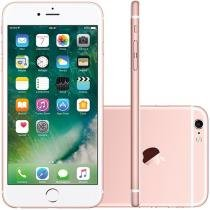 iPhone 6S Plus Apple 64GB Ouro Rosa 4G Tela 5.5 - Retina Câm. 12MP + Selfie 5MP iOS 9 Proc. Chip A9