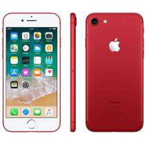 "iPhone 7 Apple 128GB RED Special Edition 4G - Tela 4.7"" Câm. 12MP + Selfie 7MP iOS 11"