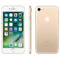 iPhone 7 Apple 256GB Dourado 4G Tela 4.7 Retina - Câm. 12MP + Selfie 7MP iOS 10 Proc. Chip A10