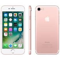 iPhone 7 Apple 256GB Ouro Rosa 4G Tela 4.7 Retina - Câm. 12MP + Selfie 7MP iOS 10 Proc. Chip A10