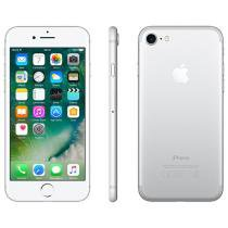 iPhone 7 Apple 256GB Prateado 4G Tela 4.7 Retina - Câm. 12MP + Selfie 7MP iOS 10 Proc. Chip A10