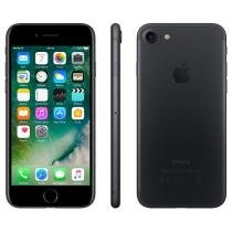 iPhone 7 Apple 256GB Preto Matte 4G Tela 4.7 - Retina Câm. 12MP + Selfie 7MP iOS 10