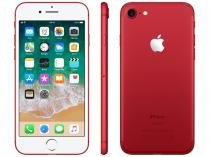 "iPhone 7 Red Special Edition Apple 128GB - 4G 4.7"" Câm. 12MP + Selfie 7MP iOS 11"