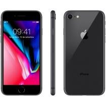 iPhone 8 Apple 256GB Cinza Espacial 4G Tela 4,7 - Retina Câm 12MP + Selfie 7MP iOS 11 Proc. Chip A11