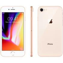 iPhone 8 Apple 256GB Dourado 4G Tela 4,7 Retina - Câmera 12MP + Selfie 7MP iOS 11 Proc. Chip A11
