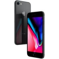 iPhone 8 Apple 64GB Cinza Espacial 4G Tela 4,7 - Retina Câm 12MP + Selfie 7MP iOS 11 Proc. Chip A11