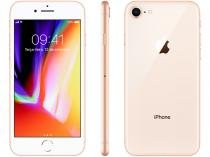 iPhone 8 Apple 64GB Dourado 4G Tela 4,7 Retina - Câmera 12MP + Selfie 7MP iOS 11 Proc. Chip A11