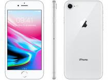 iPhone 8 Apple 64GB Prata 4G Tela 4,7 Retina - Câmera 12MP + Selfie 7MP iOS 11 Proc. Chip A11