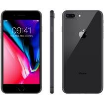 "iPhone 8 Plus Apple 256GB Cinza Espacial 4G - Tela 5,5"" Retina Câmera 12MP iOS 11 Proc. Chip A11"