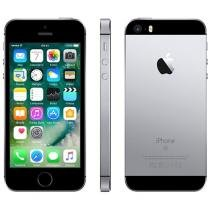 iPhone SE Apple 128GB Cinza Espacial 4G Tela 4 - Retina Câm. 12MP iOS 10 Proc. Chip A9 Touch ID