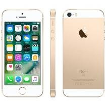 iPhone SE Apple 128GB Dourado 4G Tela 4 - Retina Câm. 12MP iOS 10 Proc. Chip A9 Touch ID