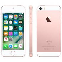 iPhone SE Apple 128GB Ouro Rosa 4G Tela 4 - Retina Câm. 12MP iOS 10 Proc. Chip A9 Touch ID