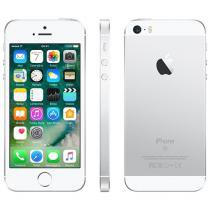 iPhone SE Apple 128GB Prateado 4G Tela 4 - Retina Câm. 12MP iOS 10 Proc. Chip A9 Touch ID