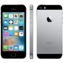 iPhone SE Apple 16GB Cinza Espacial 4G Tela 4 - Retina Câm. 12MP iOS 9 Proc. Chip A9 Touch ID